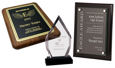 Awards and Plaques