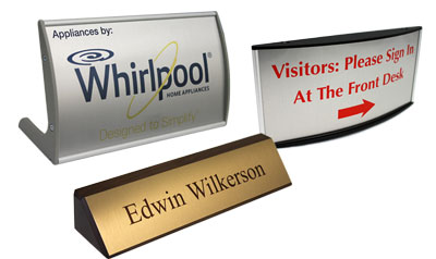 Desk Signs and Name Plates